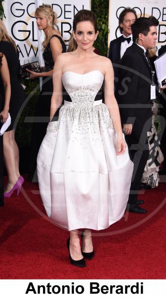 Tina Fey - Beverly Hills - 11-01-2015 - Golden Globe 2015: gli stilisti sul red carpet
