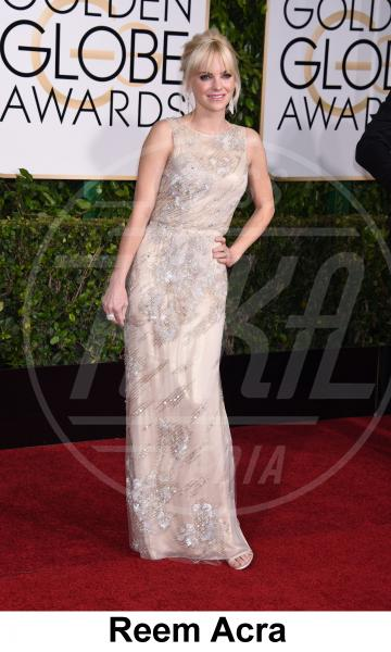 Anna Faris - Beverly Hills - 11-01-2015 - Golden Globe 2015: gli stilisti sul red carpet