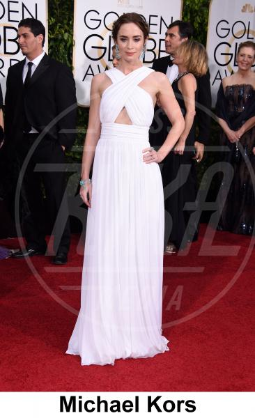 Emily Blunt - Beverly Hills - 11-01-2015 - Golden Globe 2015: gli stilisti sul red carpet