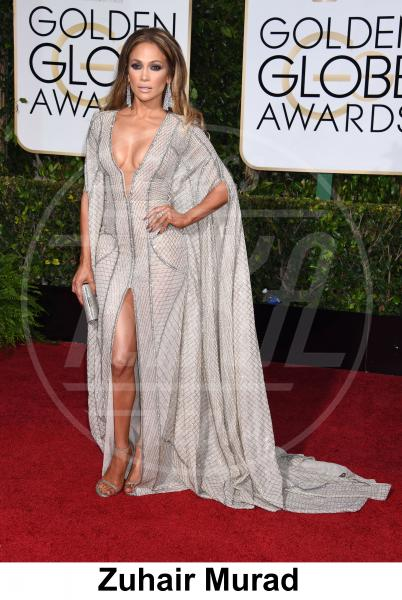 Jennifer Lopez - Beverly Hills - 11-01-2015 - Golden Globe 2015: gli stilisti sul red carpet