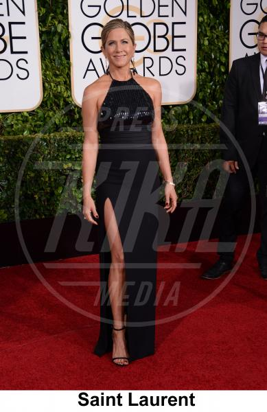 Jennifer Aniston - Beverly Hills - 11-01-2015 - Golden Globe 2015: gli stilisti sul red carpet