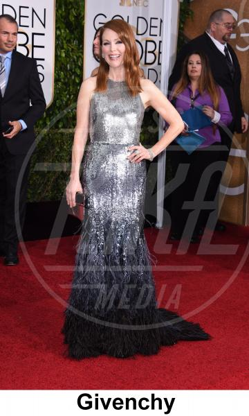 Julianne Moore - Beverly Hills - 11-01-2015 - Golden Globe 2015: gli stilisti sul red carpet