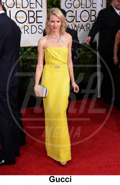 Naomi Watts - Beverly Hills - 11-01-2015 - Golden Globe 2015: gli stilisti sul red carpet