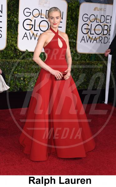 Taylor Schilling - Beverly Hills - 11-01-2015 - Golden Globe 2015: gli stilisti sul red carpet