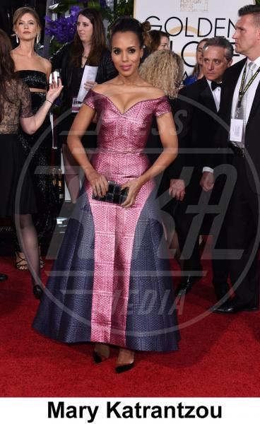 Kerry Washington - Beverly Hills - 11-01-2015 - Golden Globe 2015: gli stilisti sul red carpet