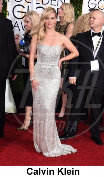 Reese Witherspoon - Beverly Hills - 11-01-2015 - Golden Globe 2015: gli stilisti sul red carpet