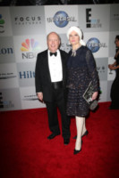 Emma Joy Kitchener, Julian Fellowes - Los Angeles - 12-01-2015 - Golden Globes 2015: il party della NBC