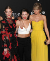 Lorde, Taylor Swift, Jaime King - Beverly Hills - 11-01-2015 - Golden Globes 2015: il party di InStyle