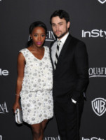 Aja Naomi King, Jack Falahee - Beverly Hills - 11-01-2015 - Golden Globes 2015: il party di InStyle