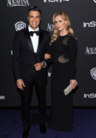 Heidi Balvanera, Jaime Camil - Beverly Hills - 11-01-2015 - Golden Globes 2015: il party di InStyle
