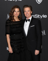 Desiree Gruber, Kyle MacLachlan - Beverly Hills - 11-01-2015 - Golden Globes 2015: il party di InStyle