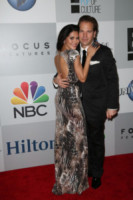 Michael Ohoven, Joyce Giraud - Los Angeles - 12-01-2015 - Golden Globes 2015: il party della NBC