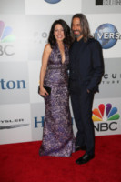 Robert Russell, Lisa Edelstein - Los Angeles - 12-01-2015 - Golden Globes 2015: il party della NBC