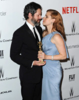 Darren Le Gallo, Amy Adams - Beverly Hills - 11-01-2015 - Golden Globes 2015: il party di Netflix