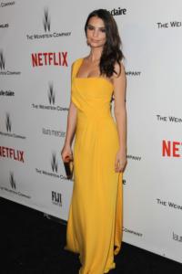 Emily Ratajkowski - Beverly Hills - 11-01-2015 - Golden Globes 2015: il party di Netflix