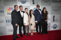 Roxy Sowlaty, Jonny Drubel, Brendan Fitzpatrick, Morgan Stewart, Dorothy Wang, Ej Johnson - Los Angeles - 12-01-2015 - Golden Globes 2015: il party della NBC