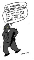 Vincino - Roma - Addio a Vincino, lo storico vignettista e' morto a 72 anni
