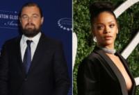 Rihanna, Leonardo DiCaprio - Los Angeles - 13-01-2015 - Leonardo DiCaprio di nuovo single: è finita con Nina Agdal