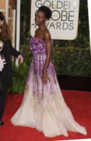 Lupita Nyong'o - Beverly Hills - 11-01-2015 - Il red carpet sceglie il colore viola. Ma non portava sfortuna?