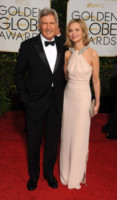 Harrison Ford, Calista Flockhart - Beverly Hills - 11-01-2015 - Golden Globes 2015: il party di InStyle