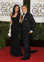 Amal Alamuddin, George Clooney - Beverly Hills - 11-01-2015 - Golden Globes 2015: il party di InStyle
