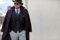 Frank Gallucci - Firenze - 14-01-2015 - Pitti 87: i dandy italiani si mettono in mostra