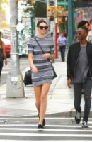Kendall Jenner - New York - 03-09-2014 - Le celebrity? Tutte pazze per le righe!