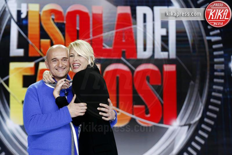 Alfonso Signorini, Alessia Marcuzzi - Milano - 22-01-2015 - Mediaset: grandi novità in arrivo per Simona Ventura