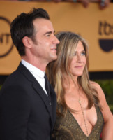 Justin Theroux, Jennifer Aniston - Los Angeles - 26-01-2015 - SAG Awards 2015: Keira Knightley, la grazia della dolce attesa
