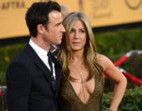 Justin Theroux, Jennifer Aniston - Los Angeles - 25-01-2015 - SAG Awards 2015: Keira Knightley, la grazia della dolce attesa