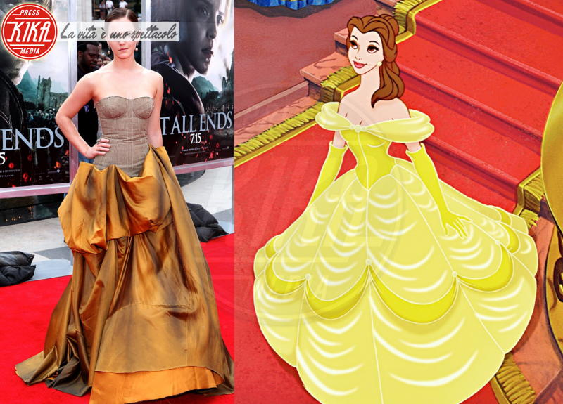 La bella e la bestia, La Bella, Emma Watson - 27-01-2015 - Le vere principesse Disney sono loro!