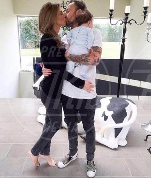 Leone Facchinetti, Wilma Helena Faissol, Francesco Facchinetti - Milano - 27-01-2015 - Francesco Facchinetti diventerà padre per la terza volta