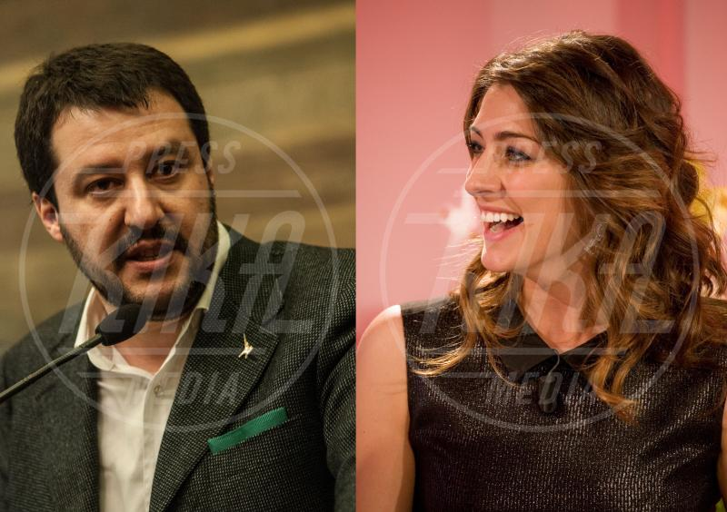 Matteo Salvini, Elisa Isoardi - 26-02-2015 - Elisa Isoardi e Matteo Salvini stanno insieme