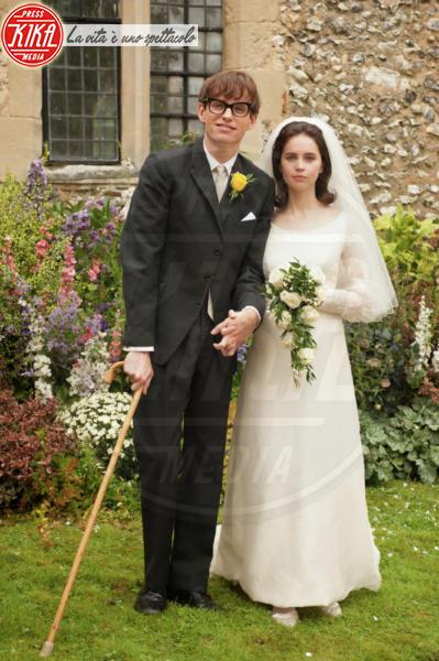 La teoria del tutto, Eddie Redmayne, Felicity Jones - Londra - 18-11-2014 - A San Valentino, il matrimonio è per sempre... almeno al cinema!
