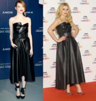 Paloma Faith, Emma Stone - Londra - 11-12-2014 - Emma Stone e Paloma Faith: chi lo indossa meglio?