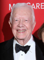 Former U.S. President Jimmy Carter - Los Angeles - 06-02-2015 - Jimmy Carter proclama Bob Dylan Persona dell'anno