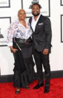 Pamela Warner, Malcolm-Jamal Warner - Los Angeles - 08-02-2015 - Grammy Awards 2015: Madonna alza la gonna