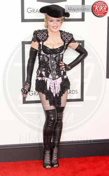 Madonna - Los Angeles - 08-02-2015 - Grammy Awards 2015: Madonna alza la gonna