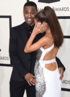 Big Sean, Ariana Grande - Los Angeles - 09-02-2015 - Grammy Awards 2015: Madonna alza la gonna