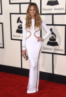 Chrissy Teigen - Los Angeles - 09-02-2015 - Grammy Awards 2015: Madonna alza la gonna