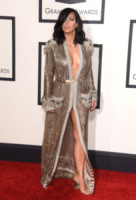 Kim Kardashian - Los Angeles - 09-02-2015 - Grammy Awards 2015: Madonna alza la gonna