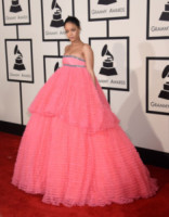 Rihanna - Los Angeles - 09-02-2015 - Le celebrity? Tutte romantiche belle in rosa!
