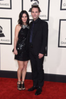 Johnny McDaid, Courteney Cox - Los Angeles - 09-02-2015 - Grammy Awards 2015: Madonna alza la gonna