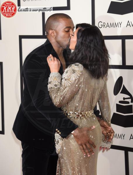 Kim Kardashian, Kanye West - Los Angeles - 09-02-2015 - Kessie, palpatina a Papu Gomez: