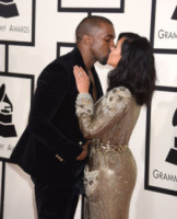 Kim Kardashian, Kanye West - Los Angeles - 09-02-2015 - Grammy Awards 2015: Madonna alza la gonna