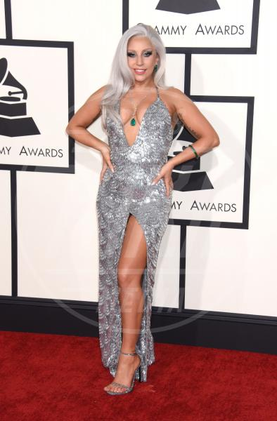 Lady Gaga - Los Angeles - 09-02-2015 - Grammy Awards 2015: Madonna alza la gonna