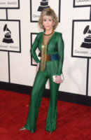 Jane Fonda - Los Angeles - 09-02-2015 - Grammy Awards 2015: Madonna alza la gonna