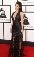 Nicki Minaj - Los Angeles - 08-02-2015 - Grammy Awards 2015: Madonna alza la gonna