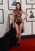 Bleona, Bleona Qereti - Los Angeles - 09-02-2015 - Grammy Awards 2015: Madonna alza la gonna