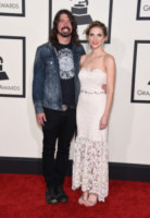 Jordyn Blum, Dave Grohl - Los Angeles - 08-02-2015 - Grammy Awards 2015: Madonna alza la gonna
